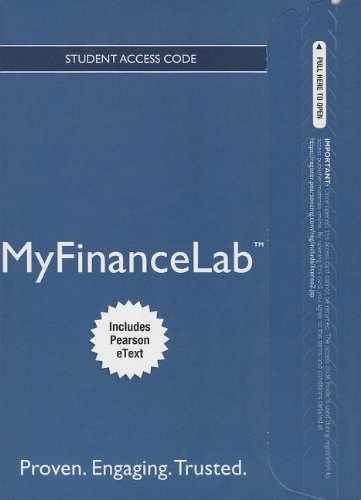 NEW MyFinanceLab with Pearson eText -- Access Card -- Financial Management: Principles and Applications (Myfinancelab compare prices)
