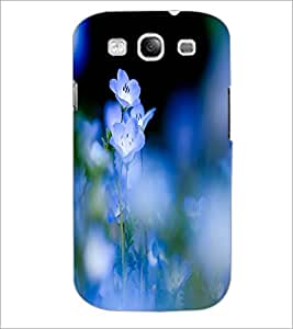 PrintDhaba Beautiful Flowers D-1206 Back Case Cover for SAMSUNG GALAXY S3 (Multi-Coloured)
