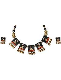 Chhayamoy Terracotta Jewellery Set