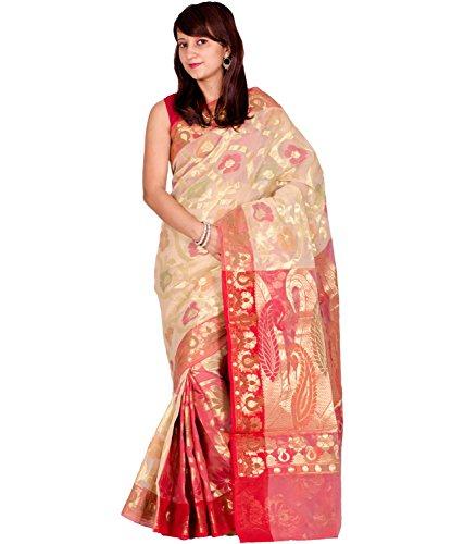 Chandrakala Pure Banarasi Cotton Saree (6437)