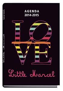 Exacompta Agenda scolaire journalier Forum Little Marcel Love 12x17cm Année 2014 2015