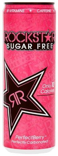 Rockstar Pink Berry Sugar Free 355 ml (Pack of 12)
