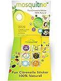 MosquitNo 50 Count Spotz Safari Citronella Stickers with Different Designs