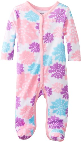 Calvin Klein Baby-Girls Newborn Pink and Printed