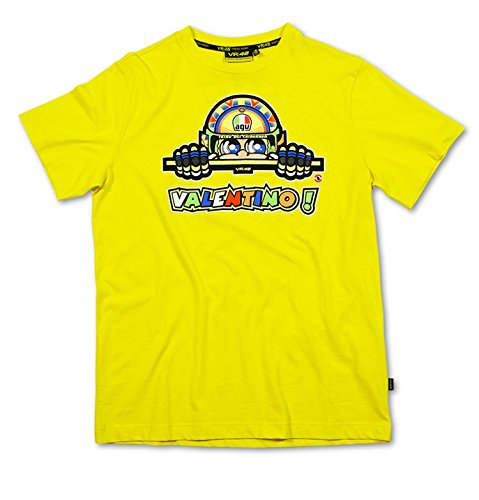 M Size Motorcycle Racing Yellow Front & Back T Shirt For Yamaha The Doctor Vr46 46 Valentino Rossi Moto Gp Rep-Sol Limited T-Shirt