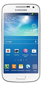SAMSUNG GALAXY S4 MINI GT-i9195 8GB-UNLOCKED International Version No Warranty White LTE 800 / 850 / 900 / 1800 / 2100 / 2600MHz