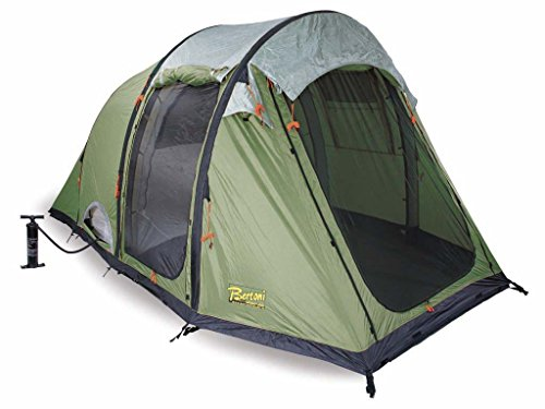 Bertoni Smart 3 Air Tenda da Campeggio Pneumatica, Verde Bosco, Unica