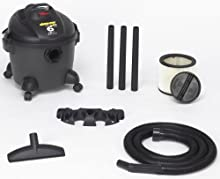 Shop-Vac 5860600 6-Gallon 3 0-Peak HP Quiet Deluxe Series Wet Dry Vacuum
