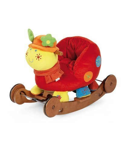 Mamas & Papas Rock & Ride Talking Lotty Ladybird - 1
