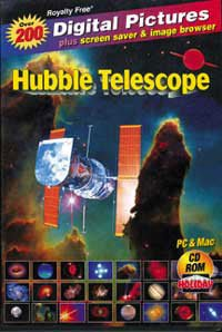 Hubble Space Telescope -4th Edition Picture CD