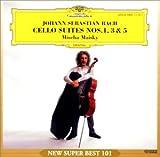 バッハ:無伴奏チェロ組曲第1&3&5番