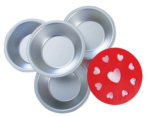 R & M 2736 Mini Pie Dishes  Decorative Topper,