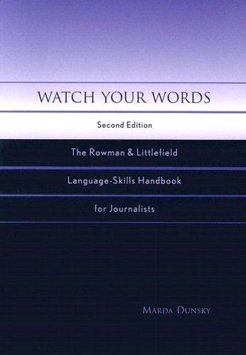 Watch Your Words: The Rowman & Littlefield...