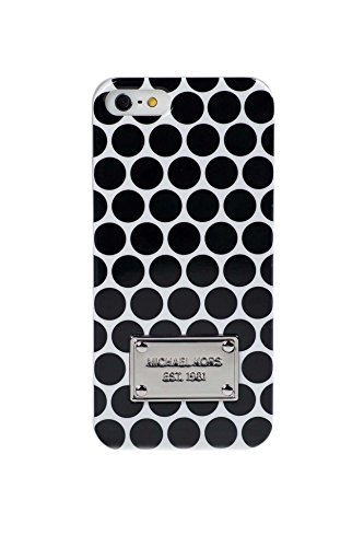 Michael Kors Iphone Case Polka Dot Black White