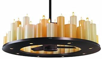 Casablanca C16G73T Candelier Ceiling Fan, Oil-Rubbed Bronze