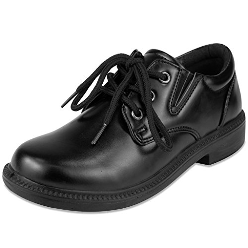 French Toast Boys Damien Uniform Dress Shoe Black 11 M US Little Kid (Kids Church compare prices)