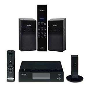 Sony ALTUS S-AIR Bundle: Wireless Audio Delivery System, Universal Audio Receiver, Digital Transmitter, Wireless Speaker System
