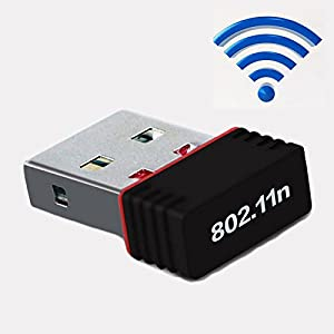 Blue Ocean Mini 150Mbps USB Wireless WiFi Lan Network Receiver Card Adapter For Desktop PC