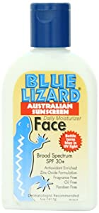 Blue Lizard Australian Suncreen, Face SPF 30+, 5-Ounce