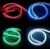 デイライトより明るい! ledチューブライト 120cm 24v 2本セット ブルー