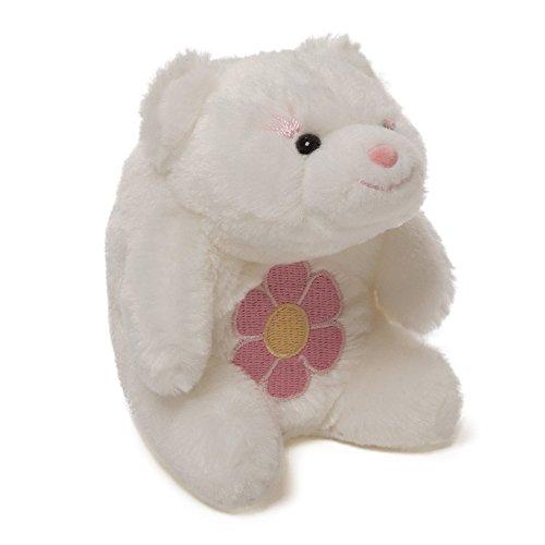 "Gund 5"" Lil' Snuffles Bear - Flower Belly - 1"