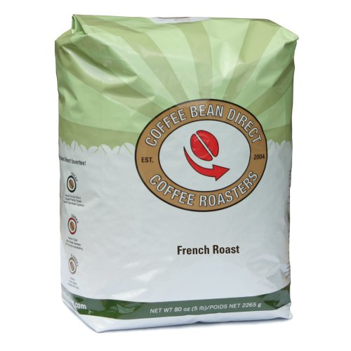 French Roast, Whole Bean Coffee, 5-Pound Bag Image