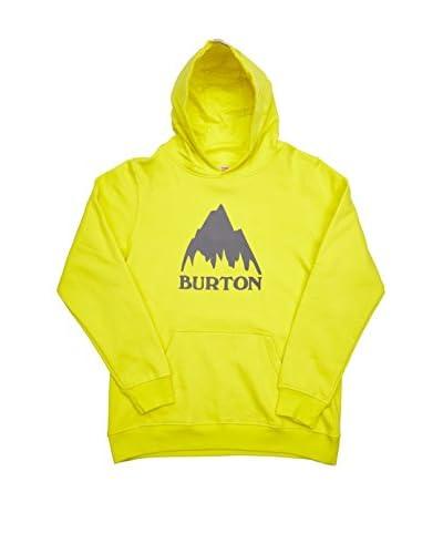 Burton Sudadera Classic Mtn Po Green Sheen