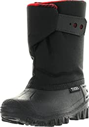 Tundra Teddy 4 Boot,Black/Red,6 M US Toddler