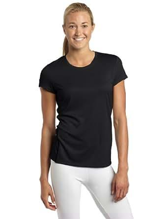 ASICS Women's Core Short Sleeve Shirt, Black, Small