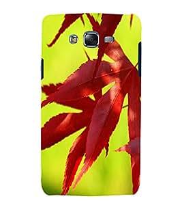 printtech Nature Leaves Back Case Cover for Samsung Galaxy E7 / Samsung Galaxy E7 E700F