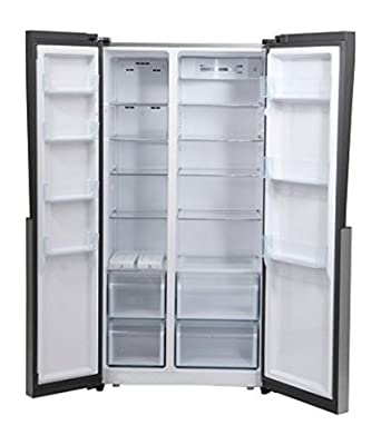 Haier HRF-618SS Frost-free Side-by-Side Refrigerator (565 Ltrs, Stainless Steel)