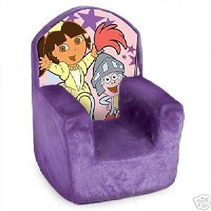 Dora The Explorer Plush High Back Chair For