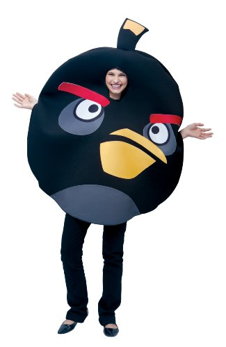 Paper Magic Unisex - Adult Angry Birds Black Costume Set