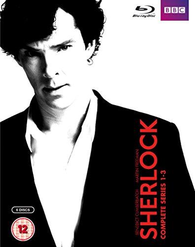 SHERLOCK Compelete seriese 1-3 シャーロック シリーズ1-3コンプリートBOX Blu-ray[BD50]