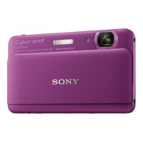 Sony cyber-shot série t dsc-tx55 appareil photo numérique compact [violet]