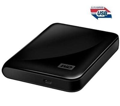 WESTERN DIGITAL My Passport Essential SE portable external hard drive - 1 TB, black + QHDC-101K Case - black . from Western Digital