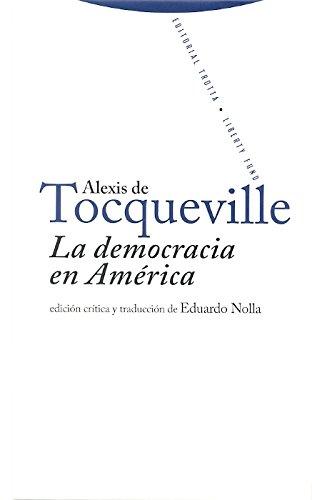 LA DEMOCRACIA EN AMERICA