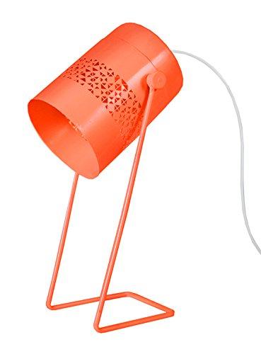 tosel-90186-ikat-lampara-de-escritorio-chapa-acero-corte-laser-pintura-epoxi-naranja-pastel-110-x-15