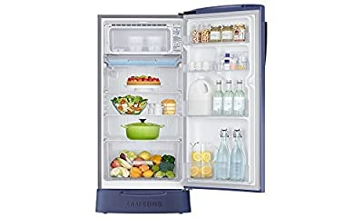 Samsung RR23J2835PX Direct-cool Single-door Refrigerator (230 Ltrs, 5 Star Rating, Orcherry Pebble Blue)
