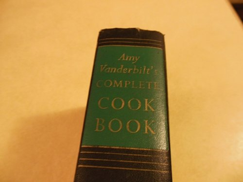 Amy Vanderbilt's Complete Cookbook. Illustrated by Andy Warhol. From the personal files of America's foremost etiquette authority. A basic cookbook with easy to prepare recipes for both simple and festive meals. Hardcover 1961. (New York Basic Tips And Etiquette compare prices)