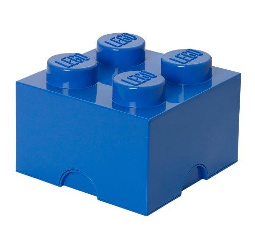 LEGO Lizenzkollektion 40031731 - LEGO Stapelbare Aufbewahrungsbox 4 Noppen Blau