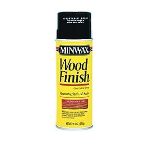 Minwax Spray Stain Oil Base Interior Golden Oak Transparent 11 5 Oz Spray Paints