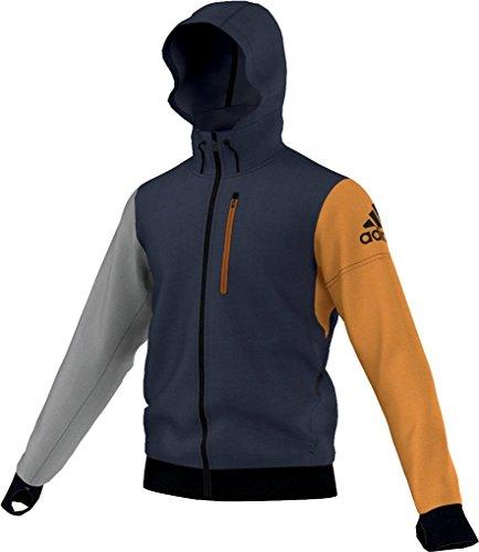 ais-daybreaker-fleece-hoodie-adidas-homme-gris-jaune-noir-xxl-amarillo-gris-negro