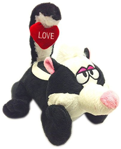 "12"" Tail Wigglers Musical Dancing Love Skunk - 1"