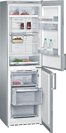 Siemens KG39NVI30 Kühlgefrierkombination / A++ / Kühlen: 230 L / Gefrieren: 128 L / chrome Inox-metallic / noFrost / coolBox