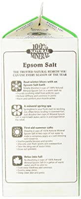 White Mountain Epsom Salt Magnesium Sulfate Soaking Solution
