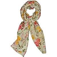 Contrast Living Women's Floral Print 100 % Cotton Stole & Dupatta