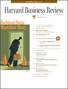 Harvard Business Review, October 2004 Periodical