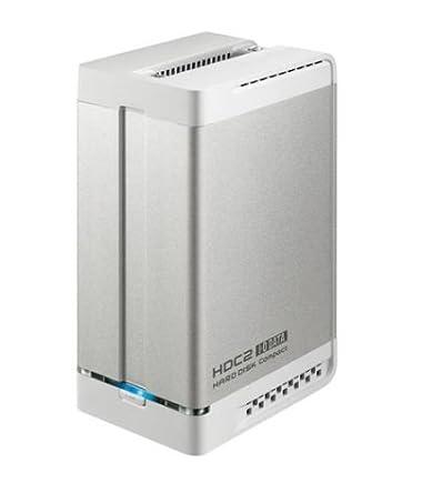I-O DATA ミラーリング/ストライピング RAID対応USBハードディスク 1TB HDC2-U1.0