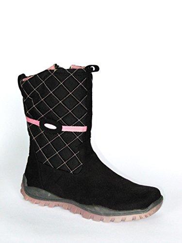 Boomers Mädchen Stiefel in schwarz rosa günstig online kaufen